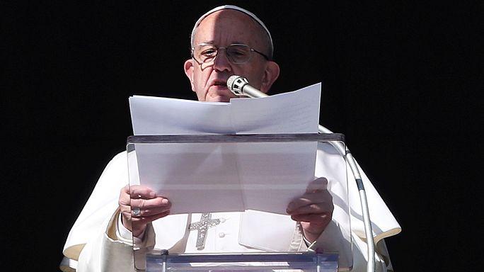 Папа Франциск благословил ближневосточных христиан