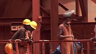 AngloGold gold mine workers in eastern Guinea go on strike