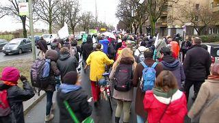 Solidaritätsmarsch für Aleppo beginnt in Berlin
