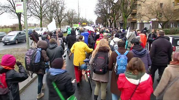 راهپیمایی کنشگران از برلین تا حلب
