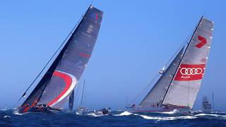 Fleet of 88 yachts set sail for Rolex Sydney Hobart Yacht Race