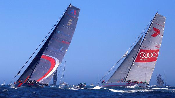 Fleet of 88 yachts set sail for Rolex Sydney Hobart Yacht Race