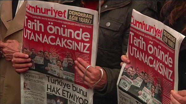 """Türkei: """"Kein Tee für Erdogan"""" - Kantinen-Chef der Zeitung """"Cumhuriyet"""" festgenommen"""