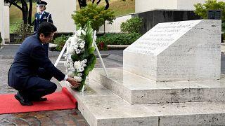 Shinzo Abe besucht Pearl Harbor