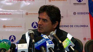 كولومبيا تحمل طيارا ومراقبين بوليفيين مسؤولية تحطم طائرة على أراضيها