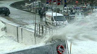 Tempesta si abbatte su Danimarca e Norvegia
