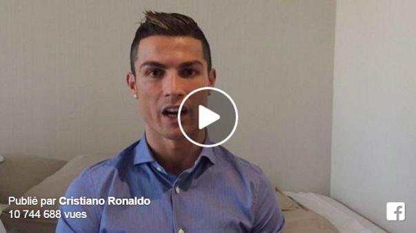 Ronaldo'nun Suriyeli çocuklara olan mesajı büyük ilgi gördü