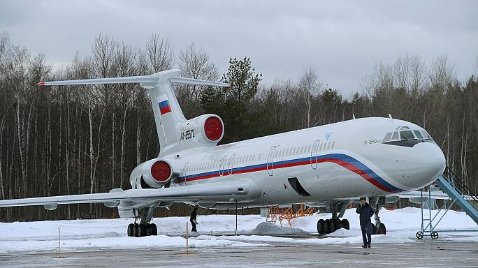Se encuentran las cajas negras del avión militar ruso estrellado el domingo