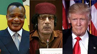 Trump's first African meeting is over Libya with Congo's Sassou Nguesso