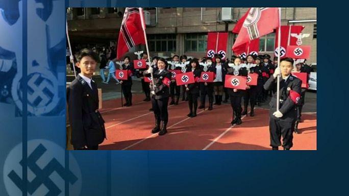Polémica en Taiwán por un desfile nazi en un colegio