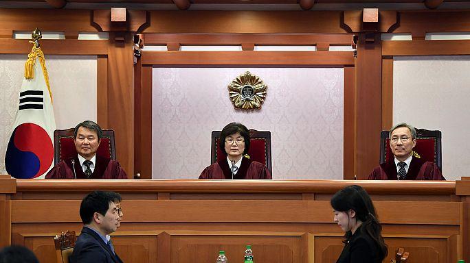 Continúa el proceso de destitución contra la presidenta de Corea del Sur por corrupción