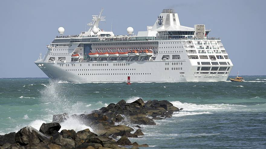Two fishermen rescued by cruise ship after 20 days adrift at sea