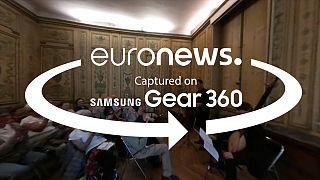 Video 360º: mezzogiorno al museo