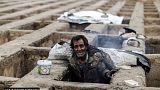 Üres sírokba húzódtak a hideg elől hajléktalanok Iránban