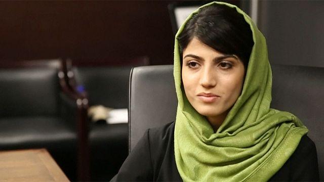 NiloofarRahmani, primera piloto militar afgana: de heroína a traidora