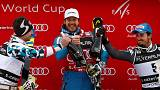 Alpine skiing: Jansrud continues perfect super-G start with Santa Caterina win