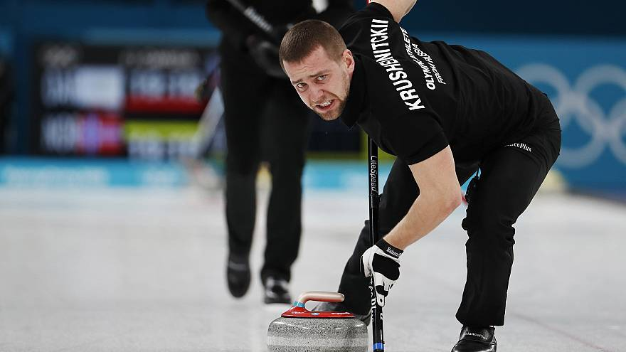 Image: Russian curler Alexander Krushelnitckii