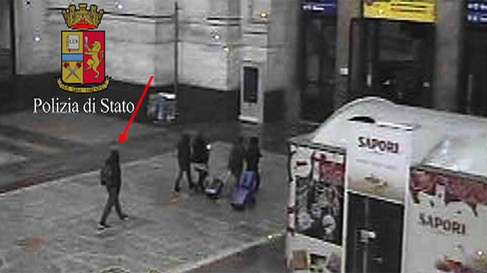Italian police release CCTV image of suspected Berlin lorry attacker in Milan