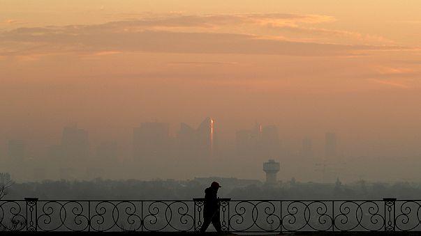 Avrupa'nın neredeyse tamamı kirli hava soluyor