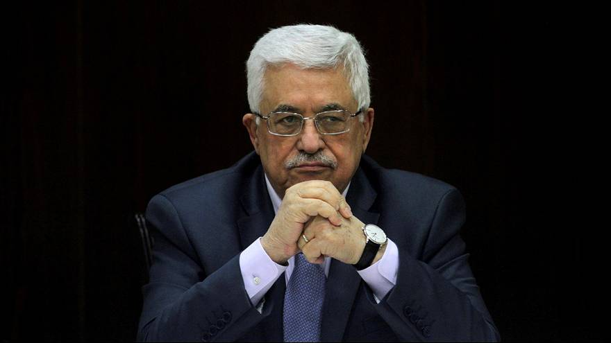 A palesztin elnök üdvözölte az ENSZ BT elítélő határozatát