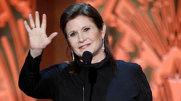 Cinema: addio a Carrie Fisher, la Principessa Leila di Star Wars