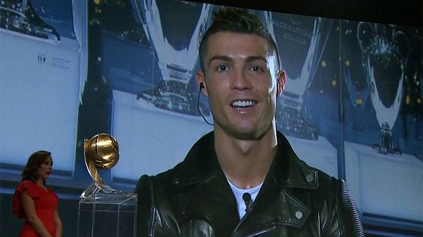 Ronaldo scoops another individual award at Globe Soccer ceremony