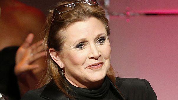 Muere Carrie Fisher, las galaxias se quedan sin su Princesa Leia