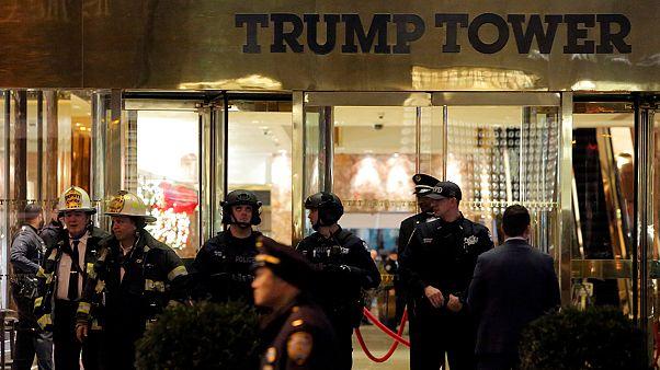 اخلاء برج ترامب لفترة وجيزة بسبب طرد مريب