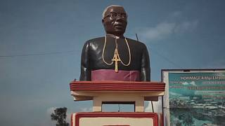 DR Congo's sculptor carving for peace