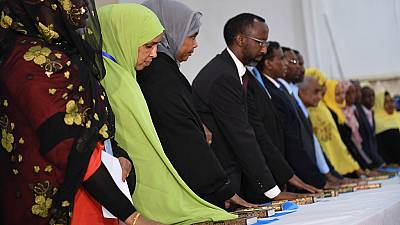 Somalia swears in 283 MPs amid concerns over altered electoral process