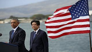 Visite historique du Premier ministre japonais à Pearl Harbor