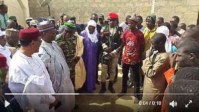 Niger: Boko haram fighters surrender
