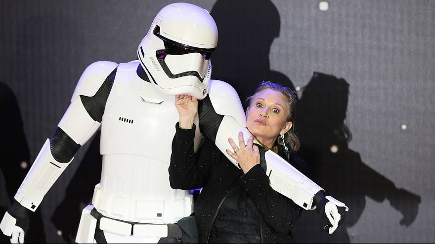 Tributes and condolences flood in for Star Wars actress Carrie Fisher