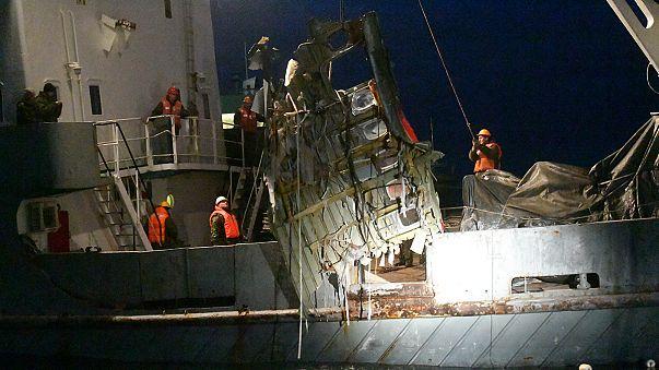 العثور على العلبة السوداء الثانية للطائرة الروسية المتحطِّمة في البحر الأسود