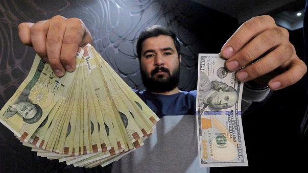 سعر صرف الريال الإيراني عند أدنى مستوى له
