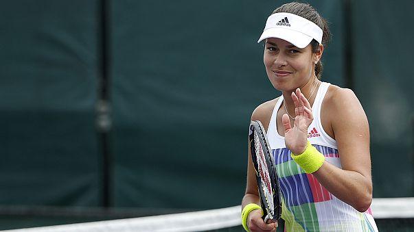 الصربية آنا إيفانوفيتش تعتزل التنس