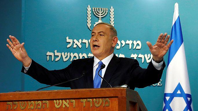 """Netanjahu """"mélységesen csalódott"""" Kerry beszéde miatt"""