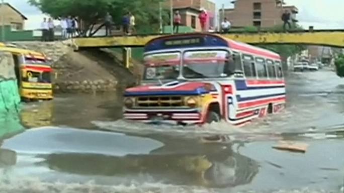 Боливия: на смену засухе пришли наводнения