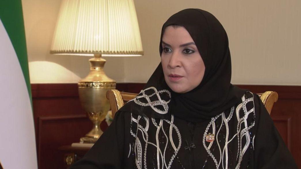 """Амаль аль-Кубайси: """"Мы ведем общую войну с терроризмом"""""""