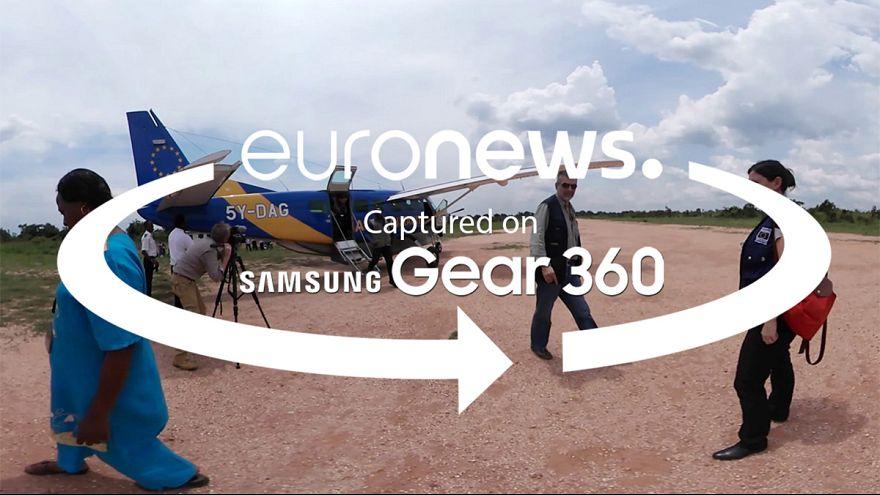 ویدئوی ۳۶۰ درجه؛ کمک های بشر دوستانه برای کنگو