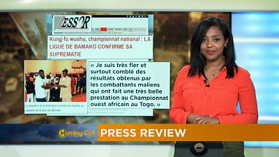 Press Review of December 29, 2016 [The Morning Call]