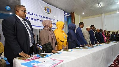 Somalie : les 283 nouveaux parlementaires prêtent serment sous haute sécurité