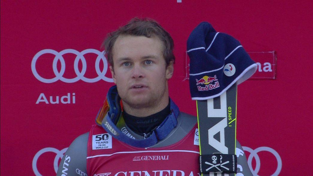 درخشش الکسیس پنتورو در آخرین رقابتهای اسکی سال