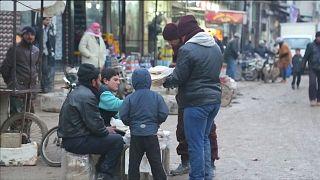Suriye halkı ateşkesten memnun
