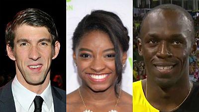 Bolt et Biles élus athlètes de l'année par l'AIPS