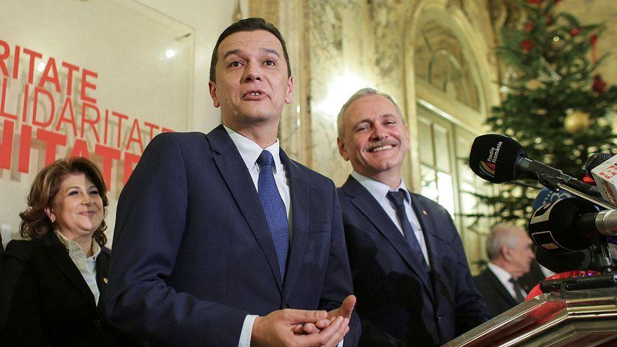 Румыния: премьер-министром стал Сорин Гриндяну