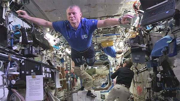 Out of this world? Astronauts join mannequin challenge craze