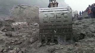 Éboulement meurtrier d'une mine en Inde