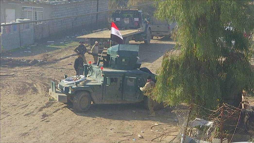 Iraqi army assaults Mosul the last ISIL stronghold in Iraq
