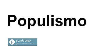 """""""Populismo"""": la palabra del año 2016 para Fundéu"""
